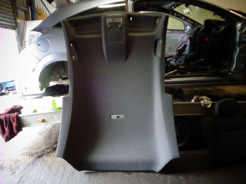 ASTRA MK5 VXR 3-DOOR BLACK ROOF LINING & LIGHTS